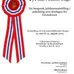 En bergensk jubileumsutstilling-200 årsdagen for Grunnloven. 2014