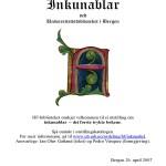 Inkunabler. Utstilling 2007
