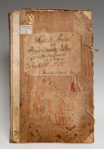 Justitz-Protocol for Breds-Gaards-Retten paa Handels-Contoiret i Bergen. 1787 – 1830. Foto: Morten Heiselberg