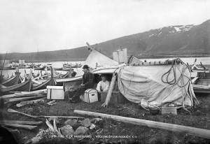 Portrett av handelsreisende. Fotograf Knud Knudsen. 1875/76 Foto: Knud Knudsen