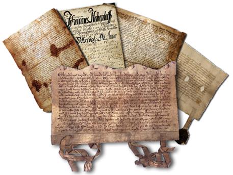 Diplom. Middelalderdokumenter