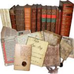 Librar. Eldre, sjeldne bøker