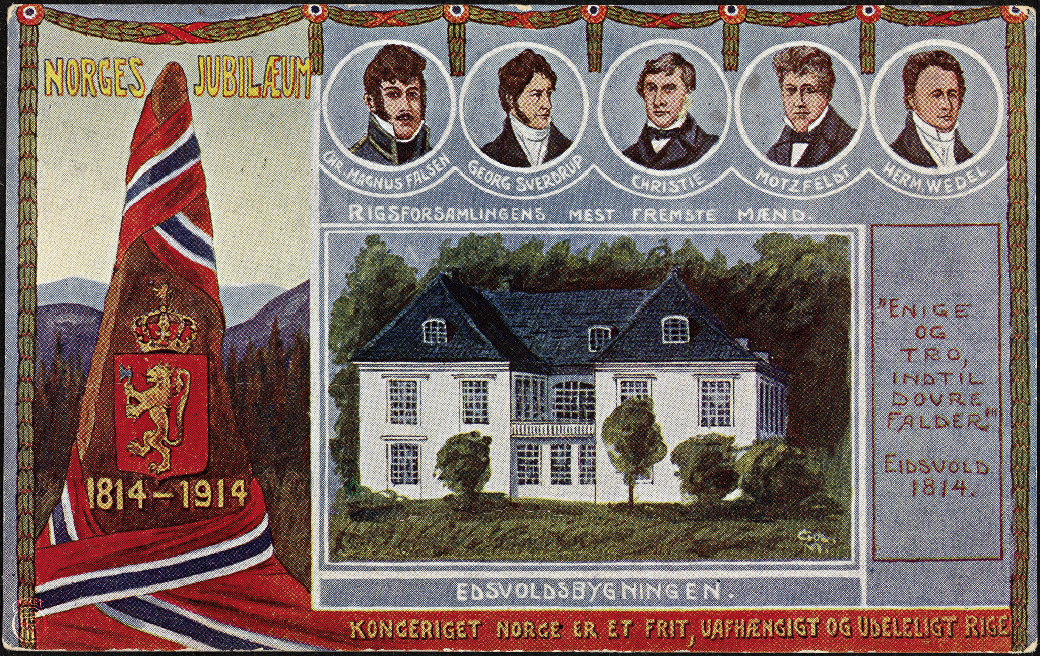 Ill. 09. Norges_Jubilæum_1814-1914[1]