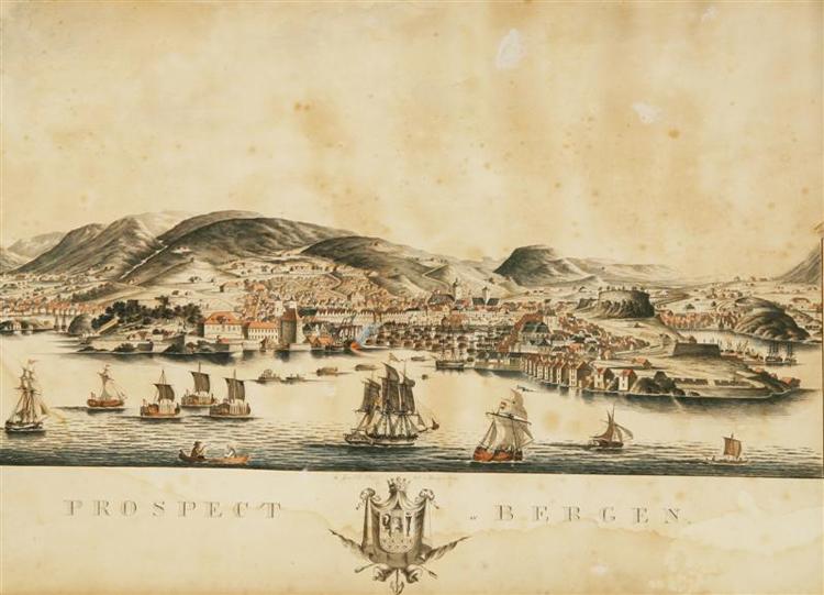 Bergen_1829_Dreier_stor