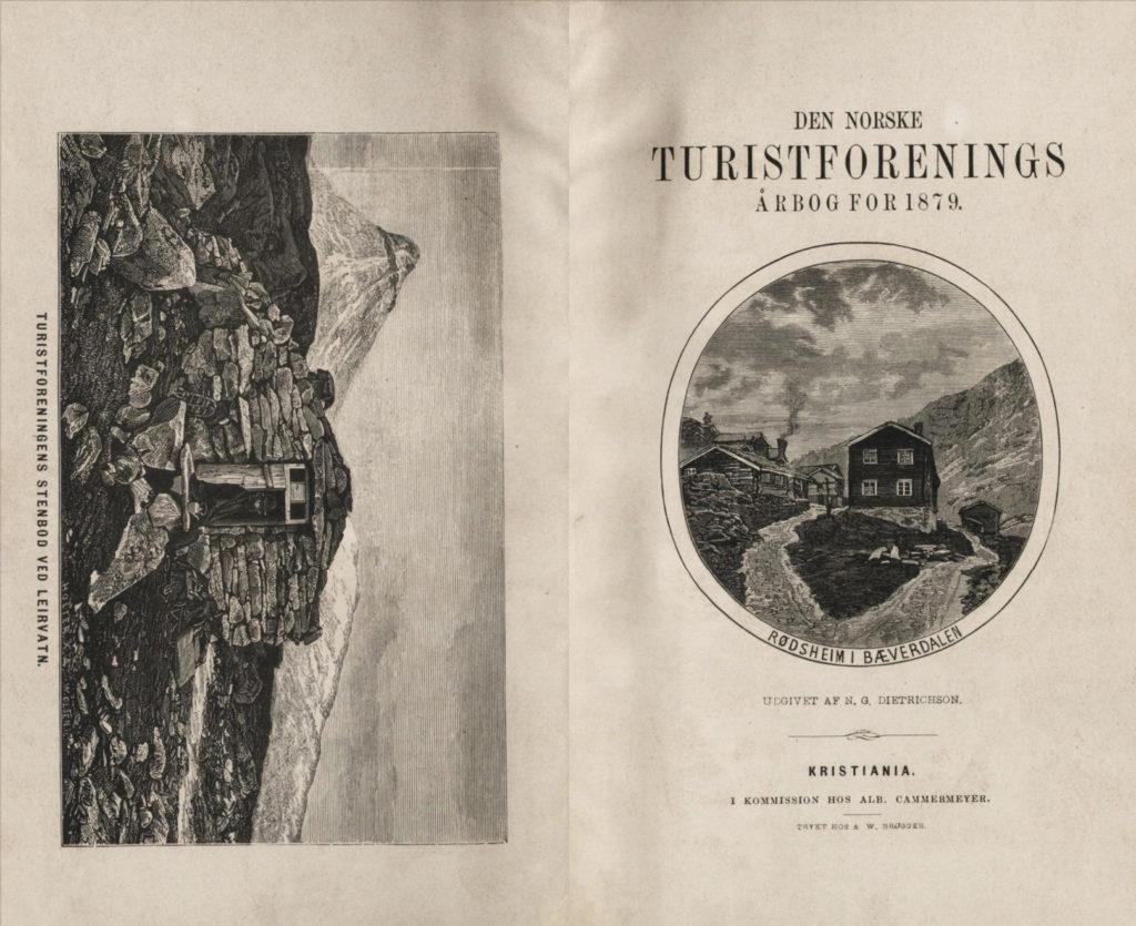 Turistforeningens årbok i 1878