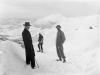 På tur i byfjellene ca.1900 Foto: Lauritz Bekker Larsen
