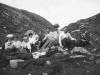 På vei til Vikinghytten 1908 Fotograf ukjen