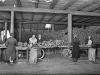 Tørrfisklager, 1930-årene. Foto. Atelier KK