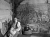 Billedkunstner Emily Mohr, 1940-årene. Foto. Atelier KK