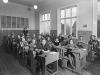 Interiør fra Nordnes skole 1925/1930. Foto. Atelier KK